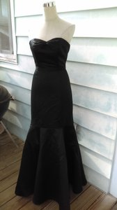 Melissa Sweet Black Trumpet Dress