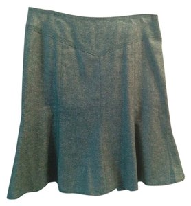 Ann Taylor LOFT Skirt Green