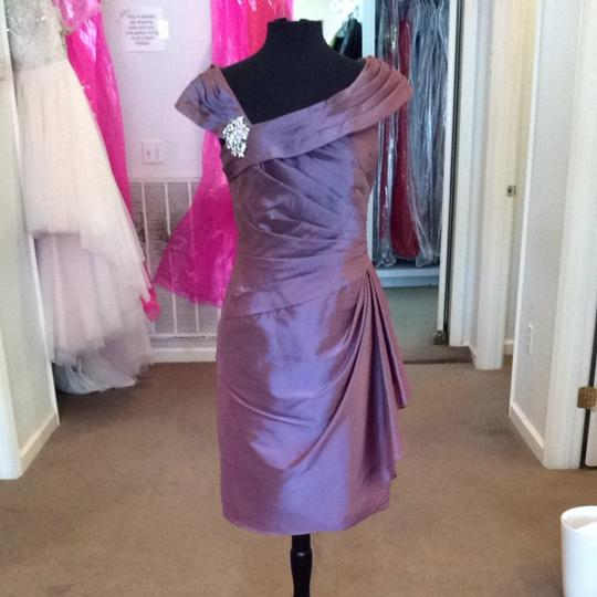 Jasmine Victorian Taffeta Bridesmaid/Mob Dress Size 6 (S)