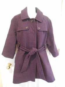 Gap Wool Winter Pea Belted Pea Coat
