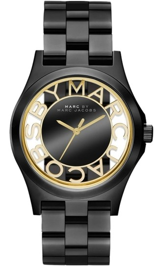 Preload https://item4.tradesy.com/images/marc-by-marc-jacobs-marc-by-marc-jacobs-watch-women-s-henry-black-ion-plated-stainless-steel-bracelet-40mm-mbm3255-4127068-0-0.jpg?width=440&height=440