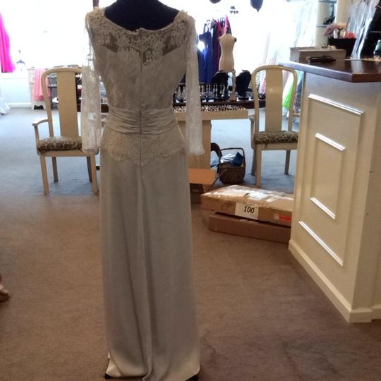 Jasmine Oyster Silk Bridesmaid/Mob Dress Size 12 (L)