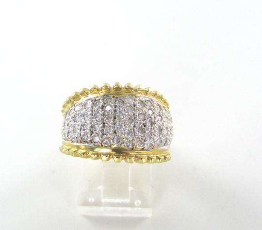 Other 14K SOLID YELLOW GOLD WEDDING BAND 79 GENUINE DIAMOND 1.20 CARAT NOT SCRAP RING