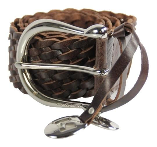 Preload https://item3.tradesy.com/images/michael-kors-brown-braided-woven-size-small-belt-4127497-0-4.jpg?width=440&height=440