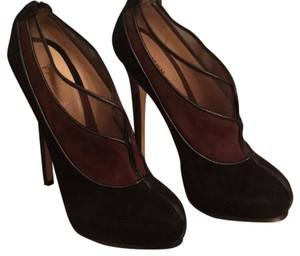 Fendi Black and brown Platforms