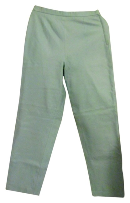 Preload https://item1.tradesy.com/images/terry-lewis-classic-luxuries-light-blue-leather-zip-straight-leg-pants-size-12-l-32-33-4128010-0-0.jpg?width=400&height=650
