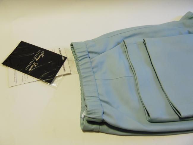 Terry Lewis Classic Luxuries Straight Pants Light Blue