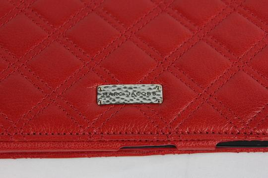 Marc Jacobs * Marc Jacobs Tufted Leather iPad Case - Red