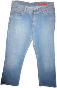 Miss Sixty Trouser/Wide Leg Jeans-Medium Wash