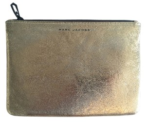 Marc Jacobs Michael Kors Designer Wallet Portfolio Leather Gold Clutch