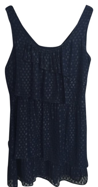 Madison Marcus Shimmery Sparkly Polka-dot Tiered Dress