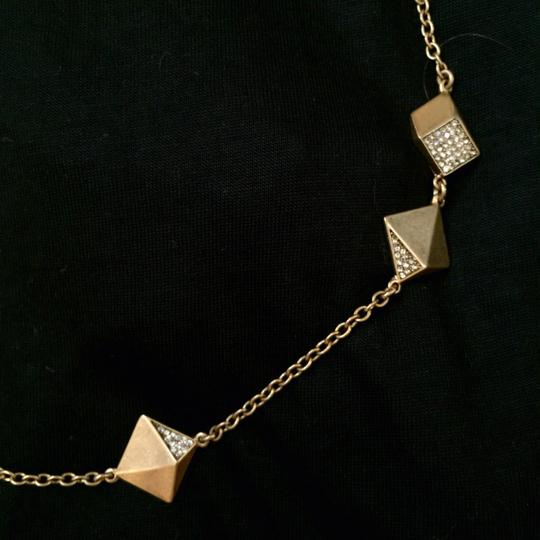 J.Crew J. Crew Long Sparkle Geometric Gold Necklace