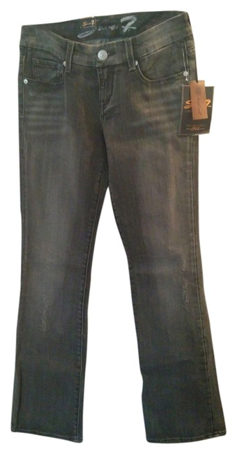 Other Boot Cut Jeans-Distressed