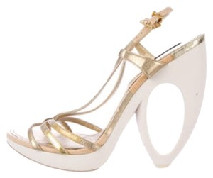 Louis Vuitton White Sandals