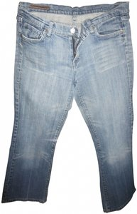 Citizens of Humanity Distressed Boot Cut Jeans-Medium Wash