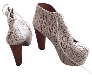 c4e2aed5e8b6 White Jeffrey Campbell Platforms - Up to 90% off at Tradesy