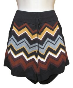 Missoni for Target Shorts Black Chevron