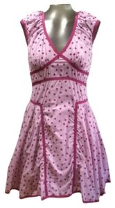 Zac Posen for Target short dress Light Purple Polka Dot on Tradesy