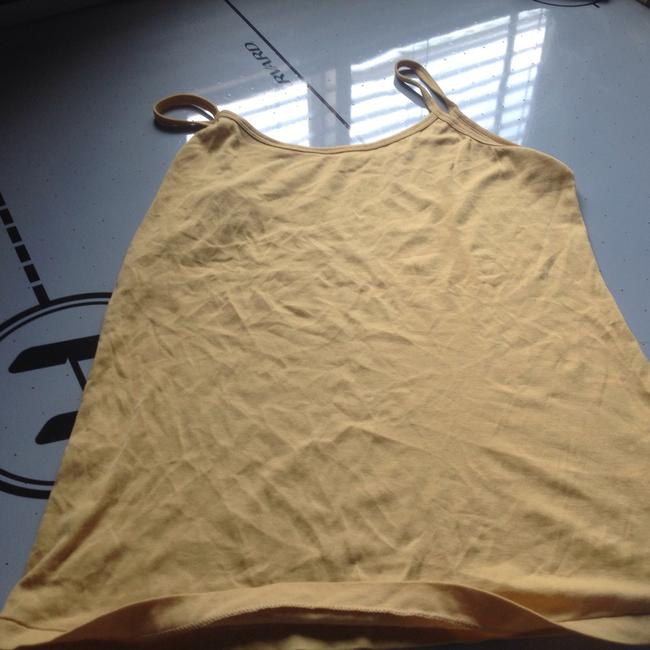 Banana Republic Strappy Too Top Poppy seed yellow