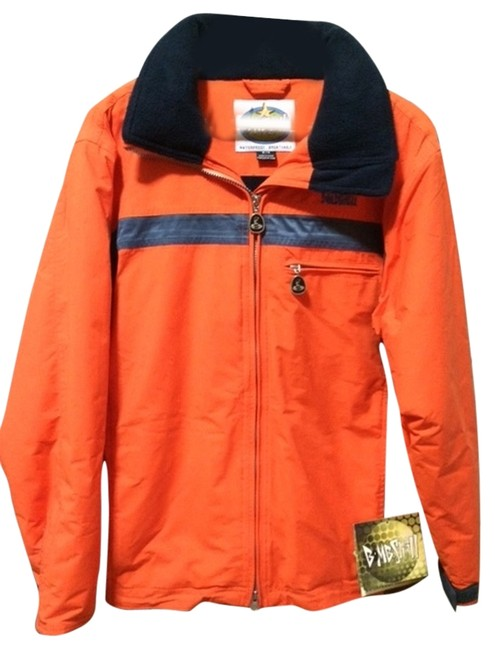 Preload https://item1.tradesy.com/images/orange-and-navy-parka-activewear-size-6-s-4129885-0-0.jpg?width=400&height=650
