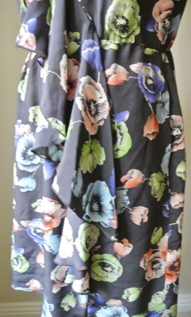Rebecca Taylor short dress Navy Silk Floral on Tradesy