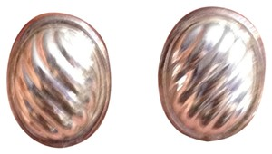 Napier Napier Silver Swirl Stud Earrings