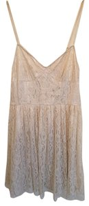 Pins and Needles short dress White/Creme Urban Outfitters White Creme on Tradesy