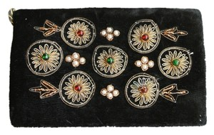 Other Vintage Velvet Evening black Clutch