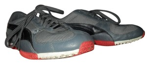 Puma Track Black Grey and Red Athletic