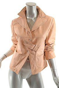 Jil Sander Leather Nude Leather Jacket