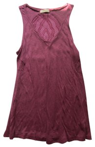 Testament Top Burgundy