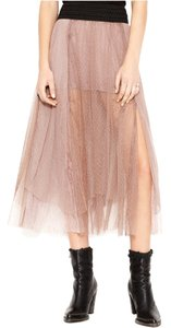 Free People Mesh Skirt Sugar Plum
