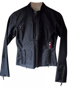 Triple Five Soul Moto Fitted Nylon Urban Sporty Motorcycle Jacket