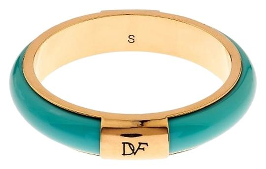 Diane von Furstenberg NWT!!! 440 enamel and gold-plated bangle