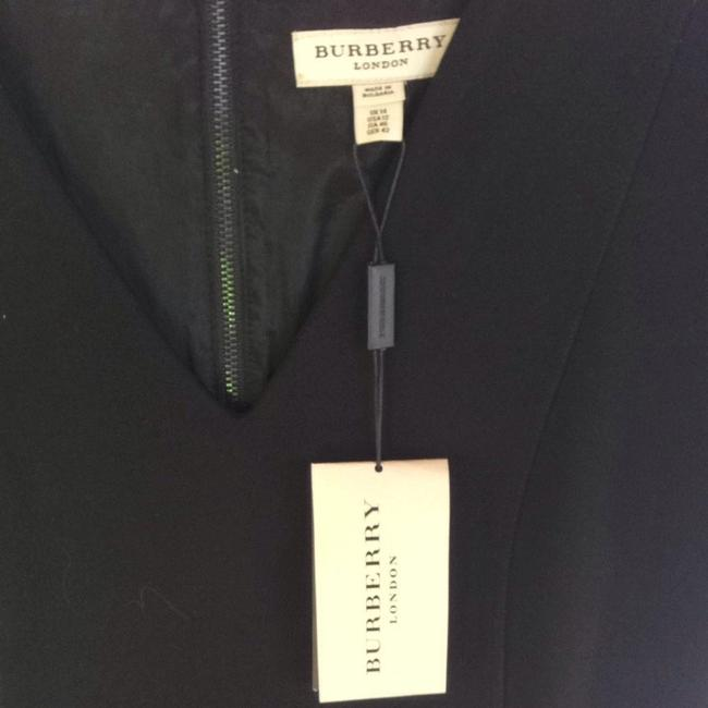 Burberry Leather Lbd Holiday Party Dress