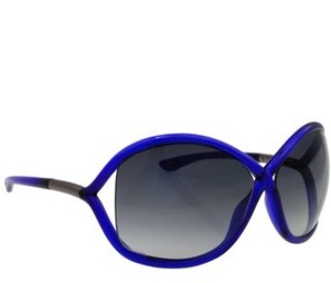 Tom Ford NEW!! Tom Ford Transparent Cobalt Blue Frame/Grey Lens