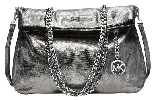 Preload https://item2.tradesy.com/images/michael-kors-lacey-large-fold-over-lizard-nickel-embossed-leather-tote-4131976-0-0.jpg?width=440&height=440