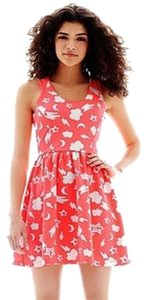 Nanette Lepore short dress Coral Orange on Tradesy