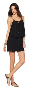 ViX short dress Black on Tradesy