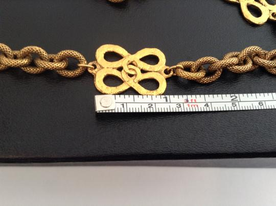 Chanel RARE VINTAGE CHANEL BUTTERFLY CC NECKLACE