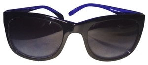 Tory Burch Tory Burch REDUCED Further!!!!black sunglasses with royal blue inside frame