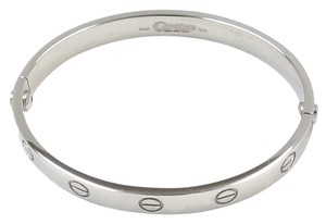 Cartier Cartier Love Bracelet White Gold #16 18K WG