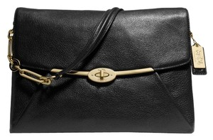Coach Madison Flap Leather Shoulder Bag