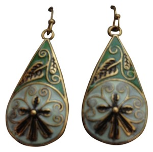 NEW Leaf floral Earrings with backing