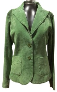 Sorbe´ pale apple green Blazer