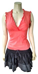 BCBGMAXAZRIA Bcbg Maxazria Sleeveless Top Salmon