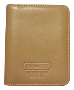 Coach Coach leather card holder