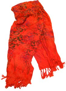 Tangerine Temple Electric Tangerine Scarf/Sarong