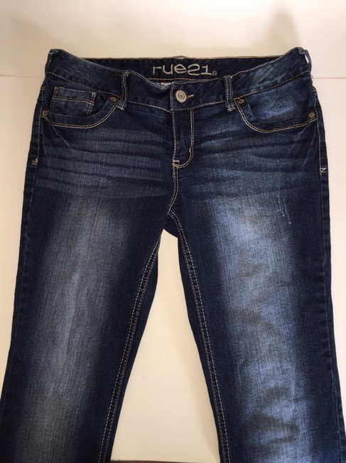 Rue 21 Boot Cut Jeans-Distressed