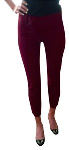 J.Crew Capri/Cropped Pants Berry